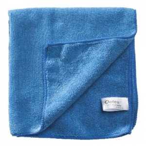 Oates Microfibre Cloths Blue Pk10
