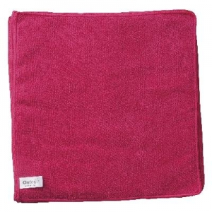 Oates Microfibre Cloths Red Pk10