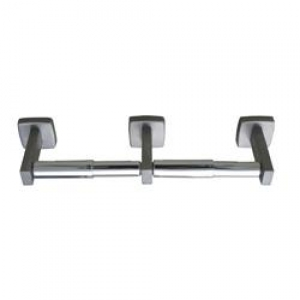 Double Roll Toilet Paper Dispenser Ss - Satin