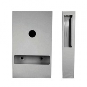 Interfold Toilet Tissue Dispenser Stainless Steel - Click for more info