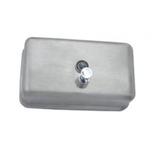 Stainless Steel Horizontal Soap Dispenser 1.2Ltr - Click for more info