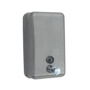 Stainless Steel Vertical Soap Dispenser 1.2Ltr - Click for more info