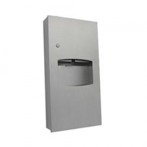 S/S Paper Towel Dispener & Waste