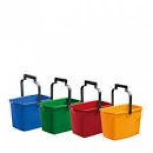 Oates 9 Ltr General Purpose Bucket - Yellow