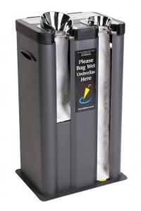 Slipless Wet Umbrella Bagging Station - Click for more info