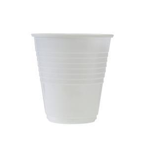 Plastic Cup 6Oz White