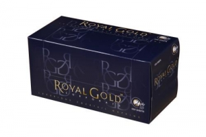 Royal Gold Cocktail Napkin 2 ply 1/4 fold 250 sheet 20 packs - Click for more info