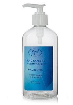 Regal Hand Sanitiser 24 x 500ml Bottle