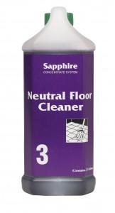 Sapphire #3 - Neutral Cleaner 2.5ltr Each - Click for more info