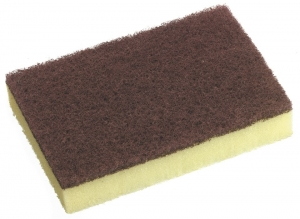 No. 910 Scour n Sponge Red Pack 10 - Click for more info