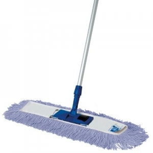 61cm Dust Mop Complete Blue