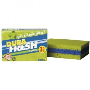 Biodegradeable Sponge 3/Pack - Click for more info