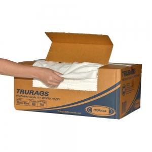 Cloth Trurags Premium 5Kg White Pieces - Click for more info
