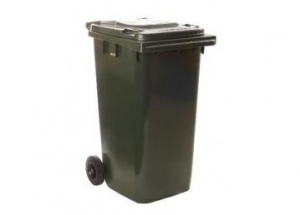 240ltr Wheelie Bin (Dark Green) - Click for more info