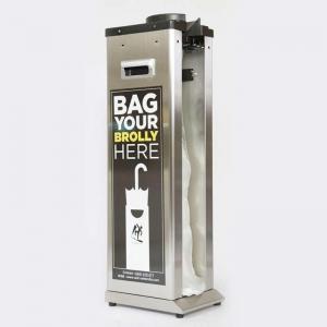 Wet Umbrella Dispenser Single Stainless Steel Body - Click for more info