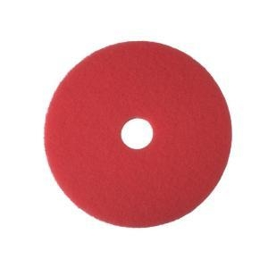 "3M Red Buffing/Cleaning Pad 40cm 16"" - Click for more info"